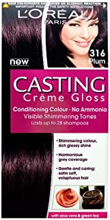 Loreal Casting Crème Gloss Plum 316