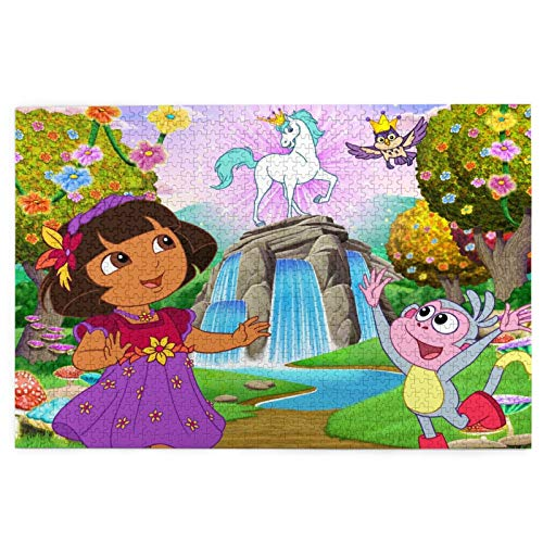 Dora The Explorer 1000 Piece Wodeen Jigsaw Puzzle Game, Suitable For Kids And Adults