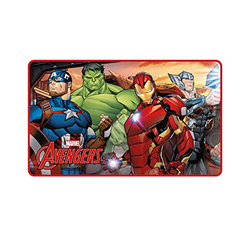ARDITEX Avengers AV11928 Tapete para la habitación, poliéster, 45x 75 cm