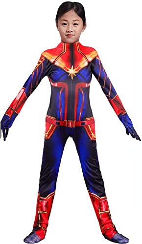 promociones de descuento Lydia's Anime Anime Anime Cosplay Ropa Capitán Marvel Cosplay The Avengers Hero Clothing Impresión Digital En 3D Tight Halloween Halloween Disfraces B-L  60% de descuento