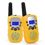 Flybiz Walkie-Talkie, Ricetrasmittente 8 Canali 2 x Walkie Talkies PMR446MHZ per Bambini 2...