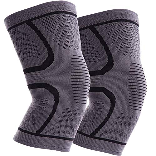 ITHW Knee Brace 2 Pack Knee Compression Sleeves fo...