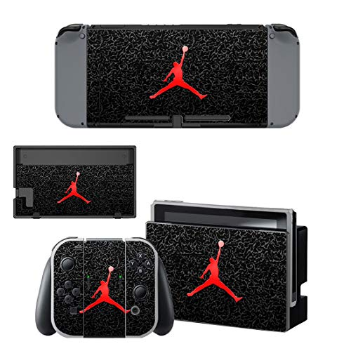 Air Jordan Nintendo Switch Skin / Decal / Vinyl / Sticker - Basketball Air Jordan Logo - Protective Cover