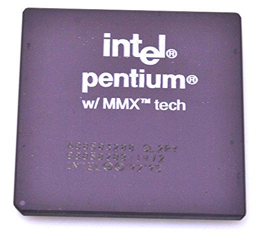 Intel Pentium MMX SL2RY - Procesador para CPU (200 MHz, FSB, zócalo 370, 2,8 V, sin Ventilador)