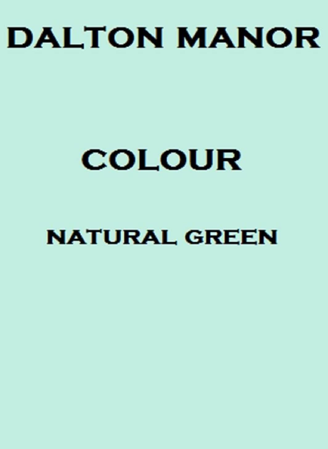 Dalton Manor A4 Coloured Card 250 Sheet Pack 160gm Supplied in a Weston Clear Craft Storage Box - Natural Green 160gm