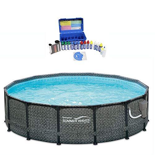 Summer Waves protection pour la piscine pour Frame Pools ø366 Bâche de Pluie PLANE COVER