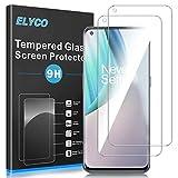 ELYCO Vetro Temperato Pellicola Protettiva per OnePlus Nord N10, [2 Pezzi] [Anti-Graffo/Olio/Impronta] 9H Durezza Niente Bolle Vetro Temperato Screen Protector per OnePlus Nord N10