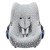 JANABEBE Funda para Maxi Cosi Cabriofix, silla de coche gr 0 (White Star)