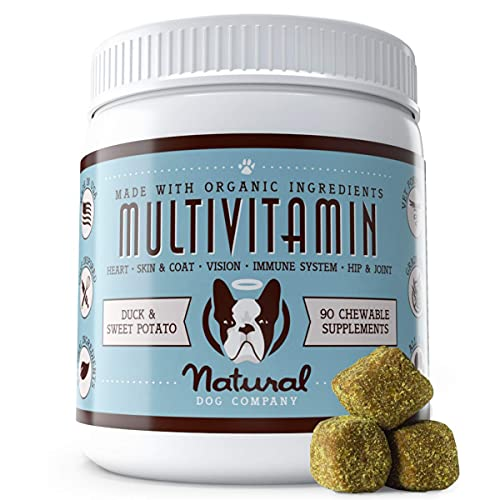 Top 10 best selling list for natural vitamin supplement for dogs