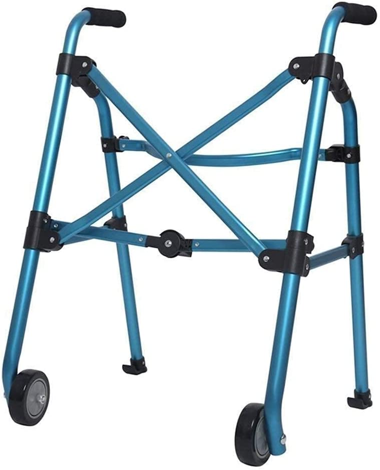 Walker for Seniors Rollator Challenge the lowest price Aluminum Walking Folding Frame Limited time free shipping Alloy