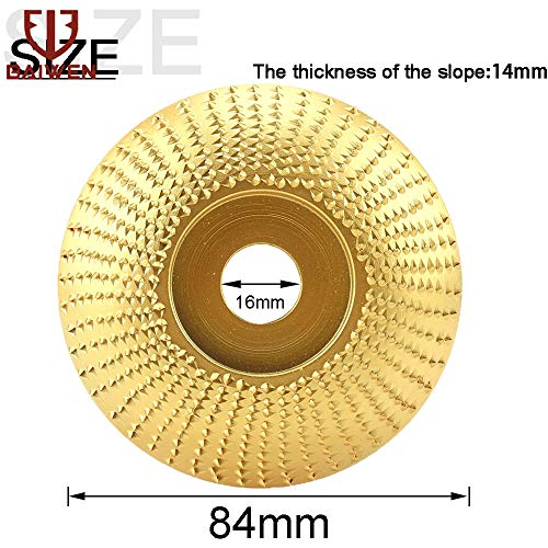 Sale!! Xucus Wood Angle Grinding Wheel Sanding Carving Rotary Tool Abrasive Disc For Angle Grinder T...
