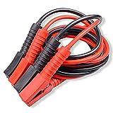BMOT Starthilfekabel 2x4m Starterkabel Set Überbrückungskabel für KFZ PKW LKW Batterie,12 Volt/24 Volt ,4 vollisolierte Polzangen