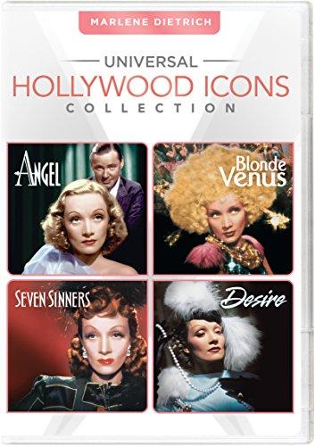 Universal Hollywood Icons Collection: Marlene Dietrich (Blonde Venus/Desire/Angel/Seven Sinners)