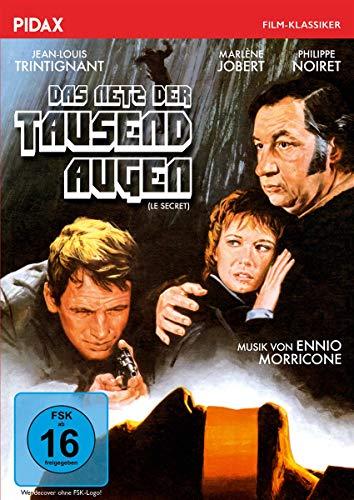 Das Netz der tausend Augen (Le secret) / Raffinierter Thriller mit Starbesetzung (Pidax Film-Klassiker)