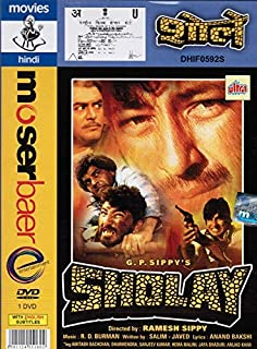 Sholay (Brand New Single Disc Dvd, Hindi Language, With English Subtitles, Released By Moserbaer)