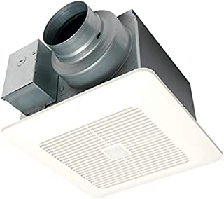 Panasonic FV-0511VQC1 WhisperSense Ventilation Fan with Motion and Humidity Sensors, Pick-A-Flow Speed Selector, Extremely Quiet, Long Lasting, Easy to Install, Energy Star Certified, White