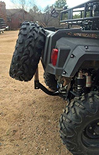 Quick Adjust UTV/ATV Receiver Hitch Spare Tire Carrier (Length 19