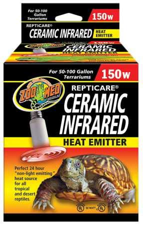 Zoo Med Repticare Infrared Ceramic Heat Emitter (150 watt)