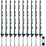 Woodside - Tiges de barrière - clôture électrique/enclos à cheval - 1,21 m (4') - Vert - Lot de 10