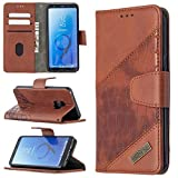 Étuis Flip Étui pour Samsung Galaxy S9 Portefeuille multifonctionnel Porte-Téléphone Mobile...