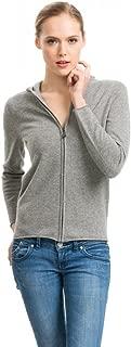 cashmere hoodie zip