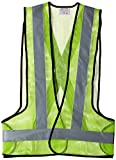 Aktion Safety Jacket AK-606 Net Reflective Tape - Green (Pack of 1)