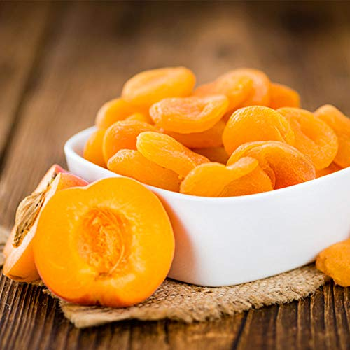 Aprikosen getrocknet entsteint geschwefelt ungesüßt, 500g-5000g kostenloser Versand wiederverschließbarer Standbodenbeutel (2500g)