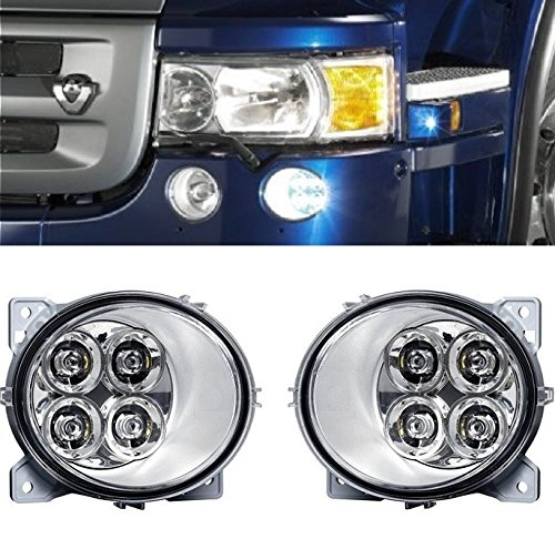 2 bombillas antiniebla de 4 luces LED para Scania P G R T Series 2004> E4 luces RH/OS + LH/OS