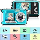 Best Waterproof Cameras - Waterproof Camera Full HD 2.7K 48 MP Underwater Review