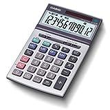 カシオ 本格実務電卓 12桁 グリーン購入法適合 テレワークにも効率UP ジャストタイプ JS-200W-N