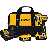 DEWALT 20V MAX XR Cordless Impact Wrench Kit, 3/8-Inch (DCF890M2)