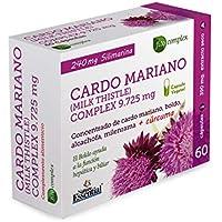 Cardo mariano complex 9.725 mg 60 cápsulas con boldo, milenrama, alcachofa y cúrcuma.