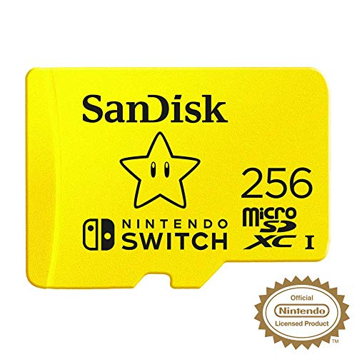 SanDisk MicroSDXC UHS-I - Tarjeta de memoria para Nintendo Switch