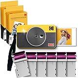 Kodak Mini Shot 2 Retro 2.1 x 3.4 Cámara Instantánea e Impresora Fotográfica Inalámbrica...