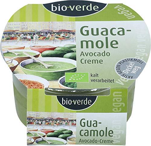 bio-verde Bio Guacamole vegan Avocado-Creme (6 x 150 gr)