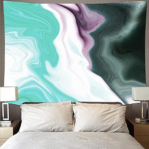 Arazzo Da Parete Tessile Cotone Tapestry Arte Muraria 3D Stampa Increspatura Di Colore(150X130Cm) Multiuso Arazzi Da Muro Può Come Telo Arredo Copridivano/Copritutto/Pareo/Telo Mare