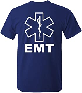 Peace Love EMT Emergency Medical Technician Unisex Short Sleeve T Shirt Tee First Response