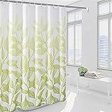 Xlabor Premium Duschvorhang 240x200cm Wasserdicht Anti-Schimmel Stoff für Badezimmer hellgrün 240x200cm