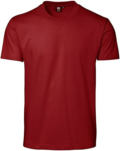 ID - Camiseta básica de Manga Corta con Cuello Redondo con Ajustado Medio Modelo Game Classic Hombre Caballero