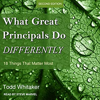 What Great Principals Do Differently     18 Things That Matter Most, Second Edition              By:                                                                                                                                 Todd Whitaker                               Narrated by:                                                                                                                                 Steve Marvel                      Length: 4 hrs and 25 mins     Not rated yet     Overall 0.0