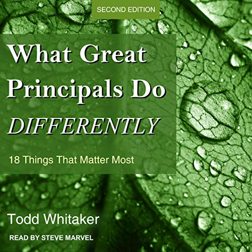 Couverture de What Great Principals Do Differently