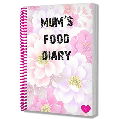 Diario de comida para mamá, cuaderno de notas, recetas, dieta, regalo para mamá, día de la madre, cumpleaños, regalo de Navidad