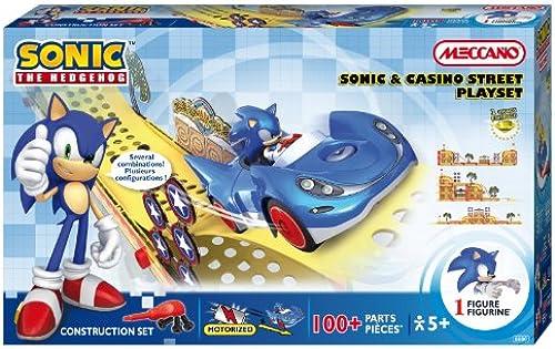 [UK-Import]Meccano Sonic The Hedgehog Sonic & Circuit Casino Street Playset