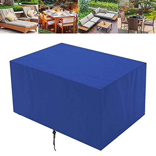 Funda Para Muebles De Jardin 240x240x85cm, Cubierta De Mesa De Jardín Exterior, Cubierta De Muebles De Terraza Impermeables,Cubierta De Muebles Interior Y Exterior Anti-UV Protección Sofa Cubi