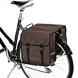 BikyBag Clásica - Doble Alforjas para Bicicletas (marrón)