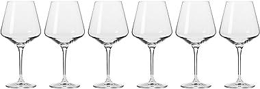 Krosno Avant-Garde Wine Glass 460ML 6pc Gift Boxed