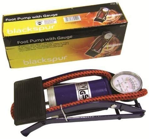 Animer and price revision Blackspur Standard Single Barrel Foot Pump Gauge 35% OFF with GS Appro -