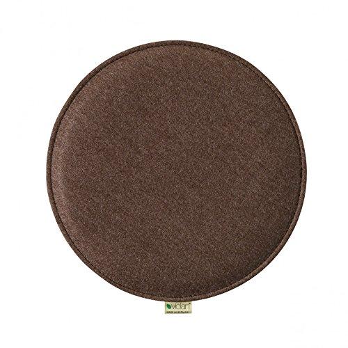 Violan Sitzkissen rund, Chocolate