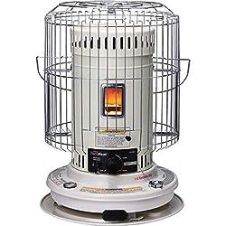 commercial Sengoku KeroHeat 23500 BTU Portable Convection Kerosene Heater, Indoor and Outdoor, CV-23K aladdin kerosene heater