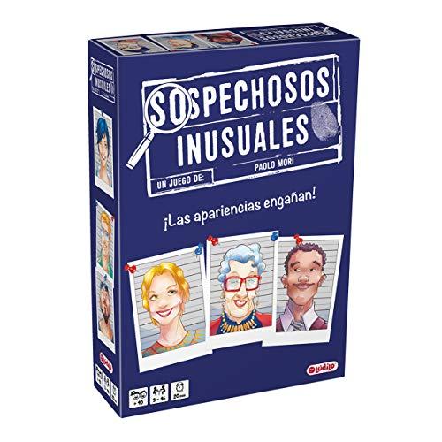 Sospechosos inusuales (Lúdilo) – Juego de Mesa cooperativo para Jugar en Familia...